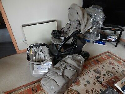 Graco Quattro Tour Deluxe Bear And Friends Travel System With Instruction Bookle • 70£