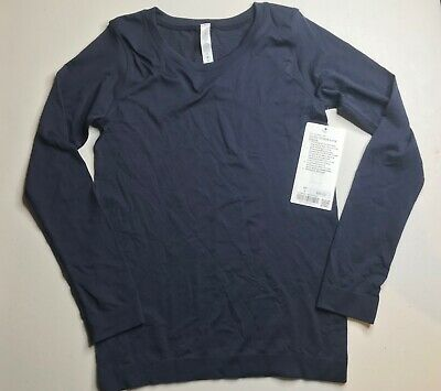 $ CDN65.51 • Buy NWT Lululemon Swiftly Tech Long Sleeve(Breeze) Relaxed Fit MDNI Size:2,4,6,10,12