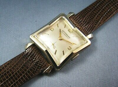 $ CDN350.09 • Buy Vintage Longines Wittnauer 10K Gold GF  Automatic Mens Watch 17J 9ARB 1950s