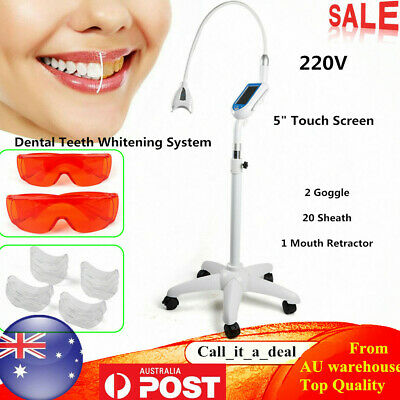 AU269.02 • Buy Mobile Dental Teeth Whitening Machine 3 Light Source Tooth Bleaching Accelerator