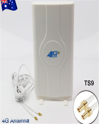 AU42.99 • Buy 49dBi 4G LTE Booster Ampllifier MIMO Antenna TS9 Telstra Optus For ZTE