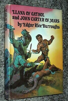 $10 • Buy LLANA OF GATHOL And JOHN CARTER OF MARS - Burroughs, Corben, 1977 Hc, Nelson