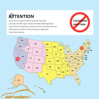 $ CDN212.58 • Buy Straight Cut Staggered Quad Stainless Steel 4 Out 3  In Exhaust Tips Dual Wall