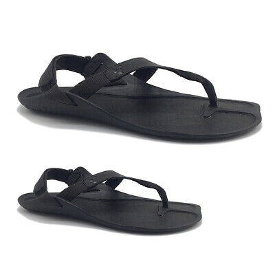 Vivobarefoot Mens Sandals Total Eclipse Lux Casual Toe-Post Leather Textile • 94.52£