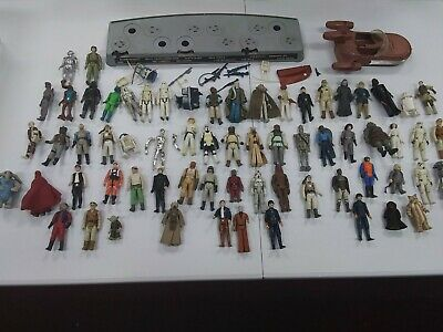 $ CDN172.89 • Buy Huge Original Vintage Star Wars Figure Lot Mail Away Stand /some Accessories