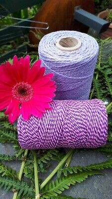 £1.70 • Buy Purples Selection Of Bakers Twine. 5 10 Or 20 Metre Lengths
