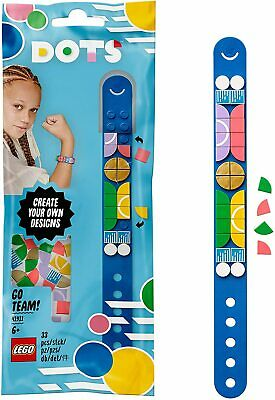 LEGO 41911 DOTS Go Team! Bracelet Beads Jewellery Set, Arts And Crafts For Kids • 5.99£