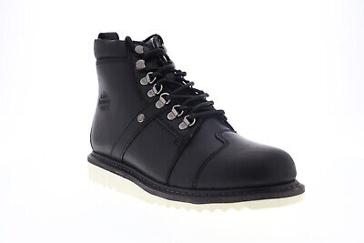 $ CDN78.48 • Buy Harley-Davidson Hickman D93586 Mens Black Leather High Top Motorcycle Boots
