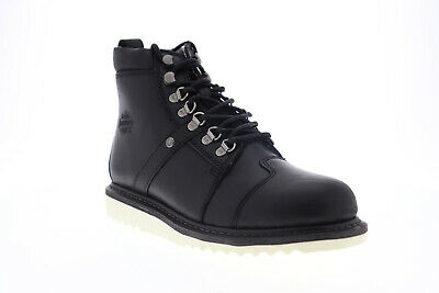 $ CDN61.66 • Buy Harley-Davidson Hickman D93586 Mens Black Leather High Top Motorcycle Boots