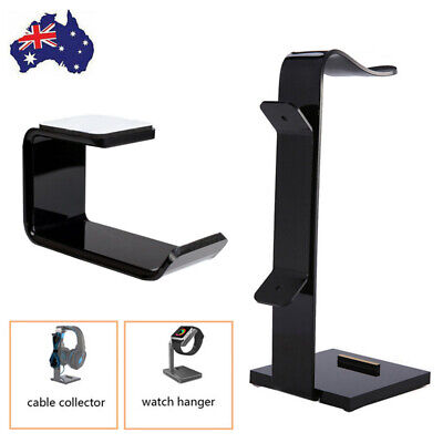 AU8.99 • Buy Universal Gaming DJ Gamer Headphone Stand Headset Hanger Bracket Holder Rack