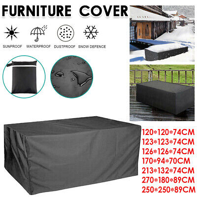 AU16.09 • Buy Waterproof Outdoor Furniture Cover Garden Patio Rain Snow UV Table Protector AU