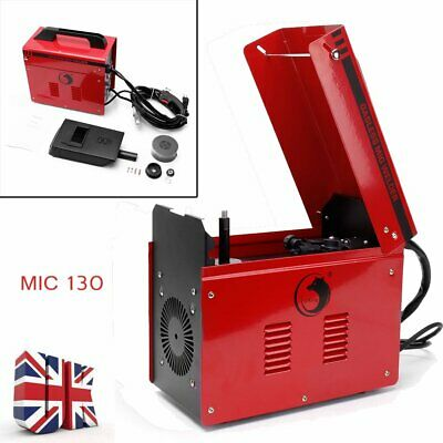 120Amp Portable Gasless Welder Welding Machine With Kit Mask MIG130 240V Kit UK • 95.99£