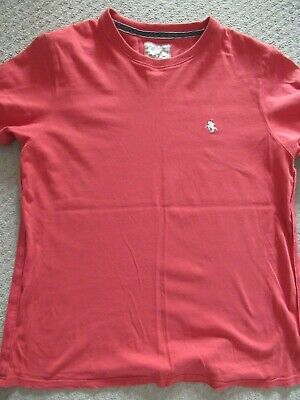 St George By Duffer Mens T Shirt - Size Large (Used Condition) • 7.99£