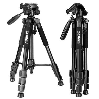 £51.81 • Buy Professional Portable Travel Tripod Accessories Stand Pan Head Canon DSLR Camera