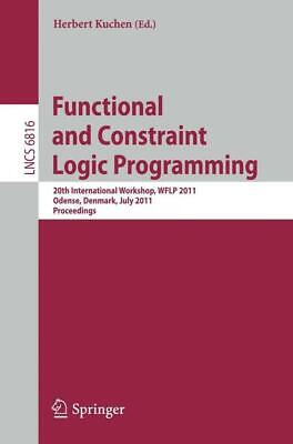 £39.88 • Buy Functional And Constraint Logic Programming