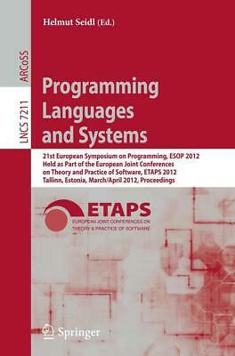 £68.73 • Buy Programming Languages And Systems