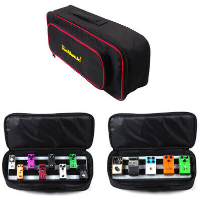 $ CDN54.06 • Buy Portable Handheld Guitar Effects Pedal Board Carry Bag Pedalboard Case