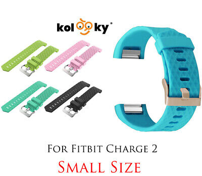 $ CDN12.49 • Buy Band Strap Buckle For Fitbit Charge 2 Watch Replacement Luxury Silicone SMALL