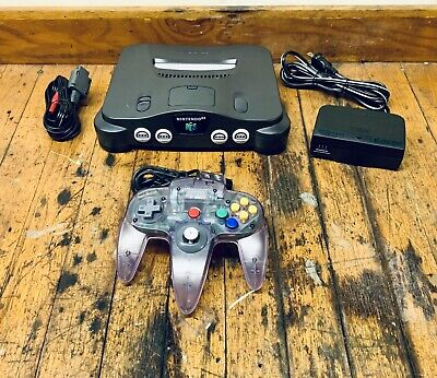 $ CDN147.20 • Buy Nintendo 64 N64 (NUS-001) System Console, 1 Controller, OEM Cords Tested