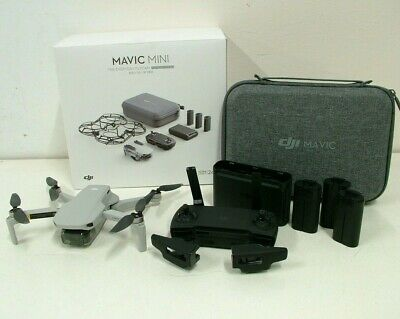 AU287 • Buy DJI Mavic Mini Drone Fly More Combo In Box - No Reserve - Bids Start From $1.00