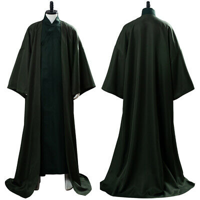 £43 • Buy Lord Voldemort Cosplay Costume Deep Green Robe Gown Outfit Uniform