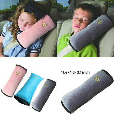 Child Car Safety Seat Belt Pillow Shoulder Strap Cushions Head Supports Kids E • 4.68£