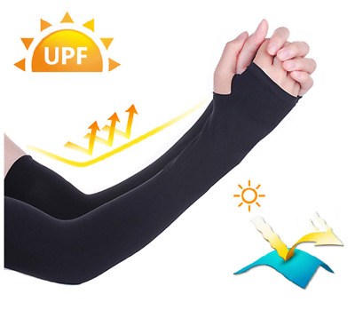 Arm Sleeves Cycling Unisex Adult Running Sports Outdoor UV Protection 1/10 Pair • 5.69£