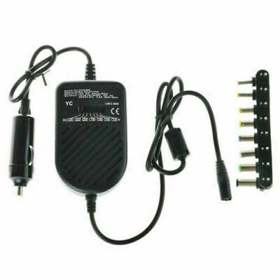 Universal Laptop In Car Charger Travel Adapter 12V DELL HP TOSHIBA SONY ACER UK • 9.99£