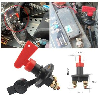 £5.69 • Buy Universal 12V Battery Isolator Switch Cut Off Switch For Car Boat Van Truck UK