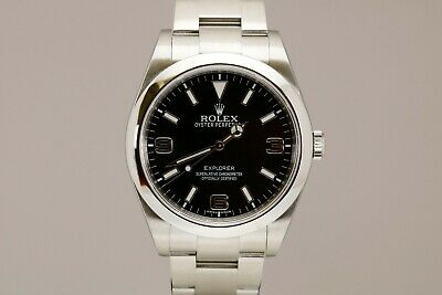 $ CDN7919.99 • Buy Rolex Explorer Stainless Steel Automatic 39mm Watch Ref 214270