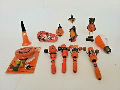 $ CDN99.08 • Buy ASSORTED VINTAGE HALLOWEEN NOVELTIES SOME ARE RARE  Lot (11)
