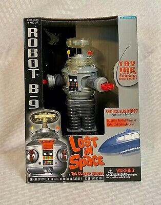 $ CDN79.20 • Buy Lost In Space The Classic Series Robot B-9 1997 Trendmasters Lights And Sounds