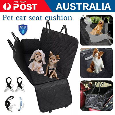 AU25.75 • Buy Dog Car Seat Cover Waterproof Rear Seat Protector Mat Dog Hammock Large Non-slip