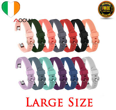 AU7.26 • Buy Strap For Fitbit Alta, HR, Ace Replacement Watch Band Silicone Buckle LARGE
