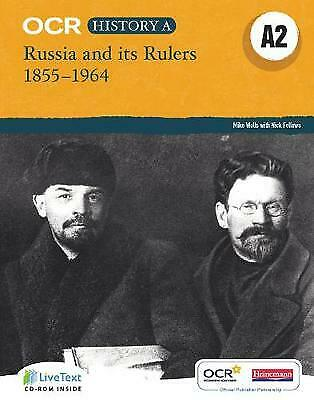 OCR A Level History A2: Russia And Its Rulers 1855-1964 - 9780435312428 • 29.42£