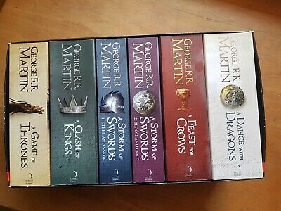 Games Of Thrones A Song Of Ice And Fire Boxset • 25£