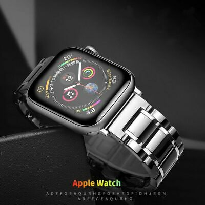 $ CDN1.31 • Buy Ceramic Watch Band Apple Watch 42mm 44mm Bracelet Iwatch Series 3 4 5 Correa De
