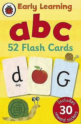 £7.75 • Buy Ladybird Early Learning: ABC Flash Cards - 9781409302742