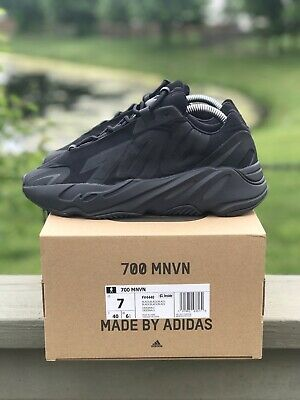 "$ CDN568.31 • Buy Adidas Originals YEEZY BOOST 700 MNVN ""Triple Black"" Brand New Size 7 Authentic"