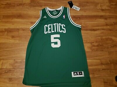 $ CDN75 • Buy Adidas NBA Boston Celtics # 5 Kevin Garnett Swingman Jersey  XL +2 Length NWT