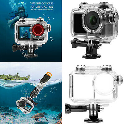 For DJI Osmo Action Camera 60M Diving Underwater Housing Waterproof Protect Case • 14.52£