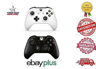AU85 • Buy Microsoft Xbox One S Wireless Controller Original Joystick Black White AU Stock