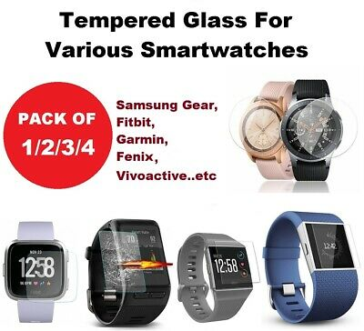 AU4.19 • Buy Screen Protector Smart Watch Samsung Galaxy S3 Gear 42mm 46mm Fitbit Garmin 235