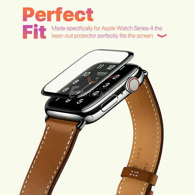 AU4.58 • Buy For Apple Watch12345 38 40 42 44 Mm 6D Tempered Glass FUL COVER Screen Protector
