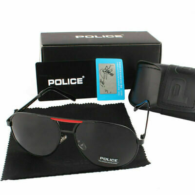AU20.59 • Buy Polarized Men Sunglasses Retro Aviator Outdoor Glasses Eyewear With Box