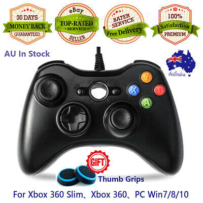 AU29.90 • Buy 🔥AU Wired Controller For Microsoft XBOX 360 Game Gamepad Joystick PC Windows
