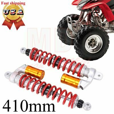 $289.95 • Buy 410mm Stage 3 Performance Front Shock Absorbers For Yamaha Raptor 660r 700r Atv