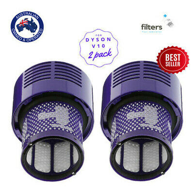 AU23.98 • Buy DYSON Vacuum Filter For All V10 Series Cyclone Absolute Animal SV12 Total 2 PACK