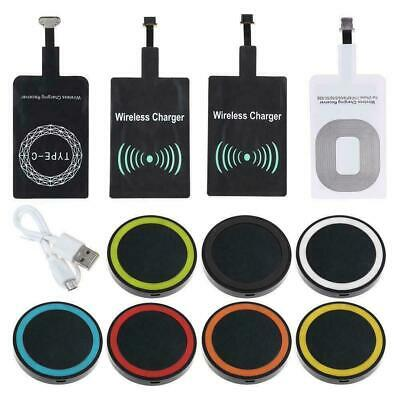 $ CDN5.06 • Buy Qi Wireless Charger Dock Pad & Charging Receiver For IPhone C Android Type Z6U1