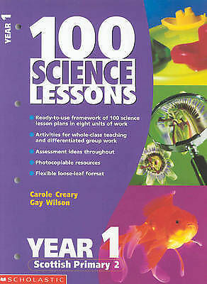 (Good)-100 Science Lessons For Year 1 (Paperback)-Wilson, Gay, Creary, Carole-04 • 2.95£